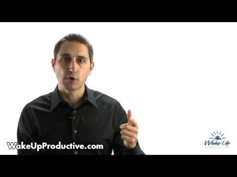 """""""Changing Habits: How To Create Healthy Habits"""" - Wake Up Productive by Eben Pagan"""