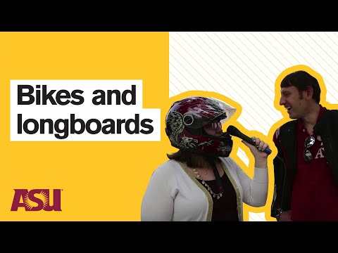 You Asked: What's the best way to get around on the Tempe campus?