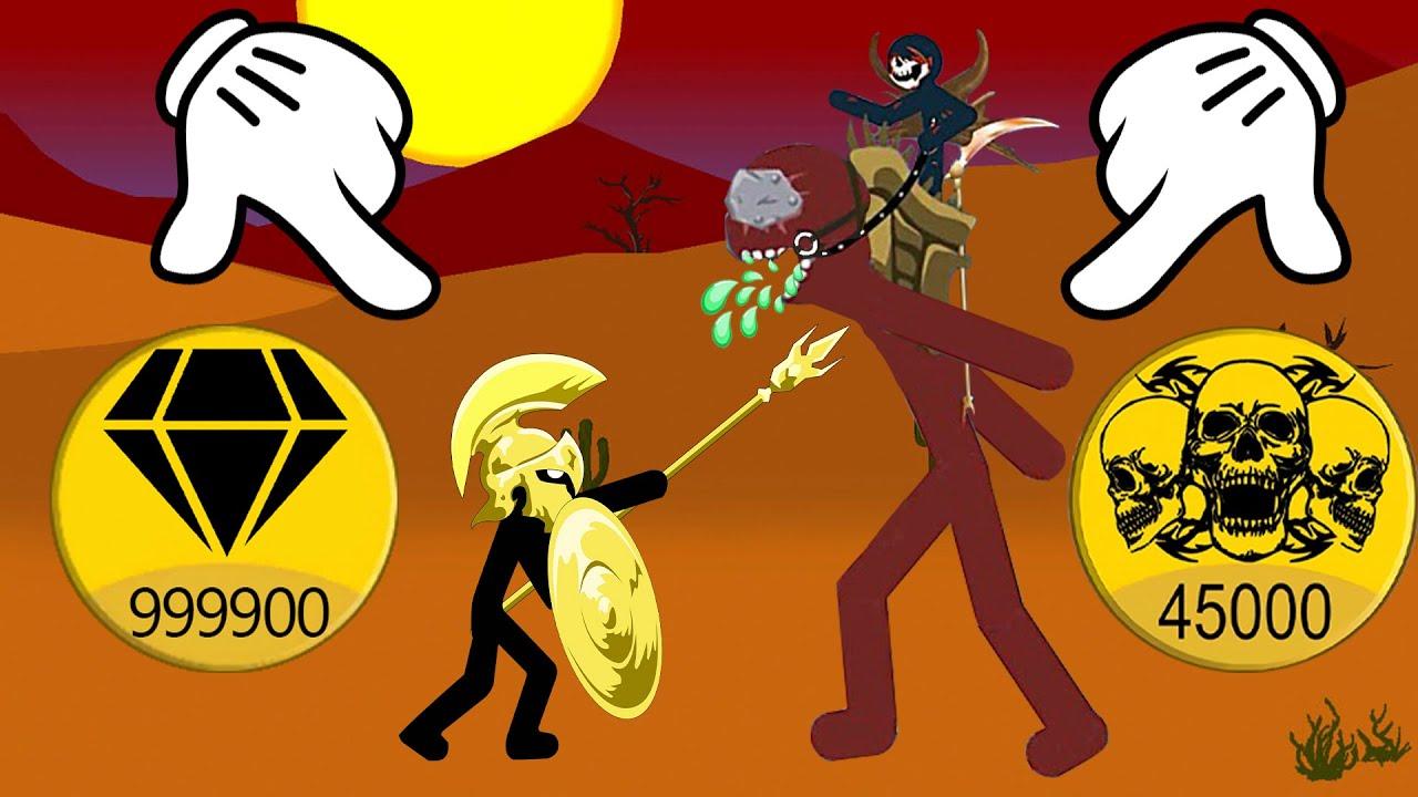 Stick War Legacy   Spearton Golden Destroy Final Kai Raider So Insane   Stick War Legacy Fight