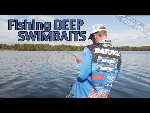 Pro Tips - How to fish a Swimbait Deep - What you need to know to catch Big Bass