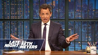 Download Seth Meyers' Wife Gave Birth in Their Apartment Lobby Mp3 and Videos