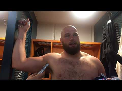 Philadelphia Eagles' Lane Johnson discusses Jason Peters' injury
