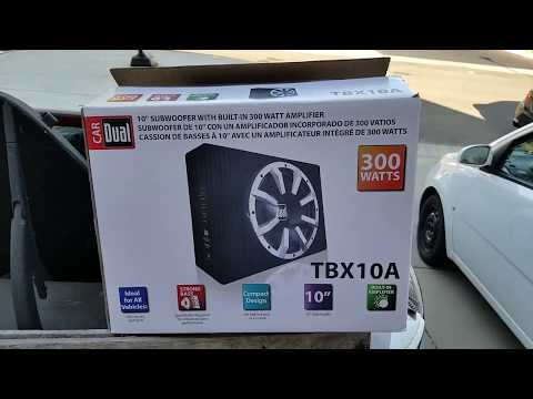 Worth It Review Of Walmart Dual 10 Inch Powered Subwoofer With Built In Amplifier Youtube