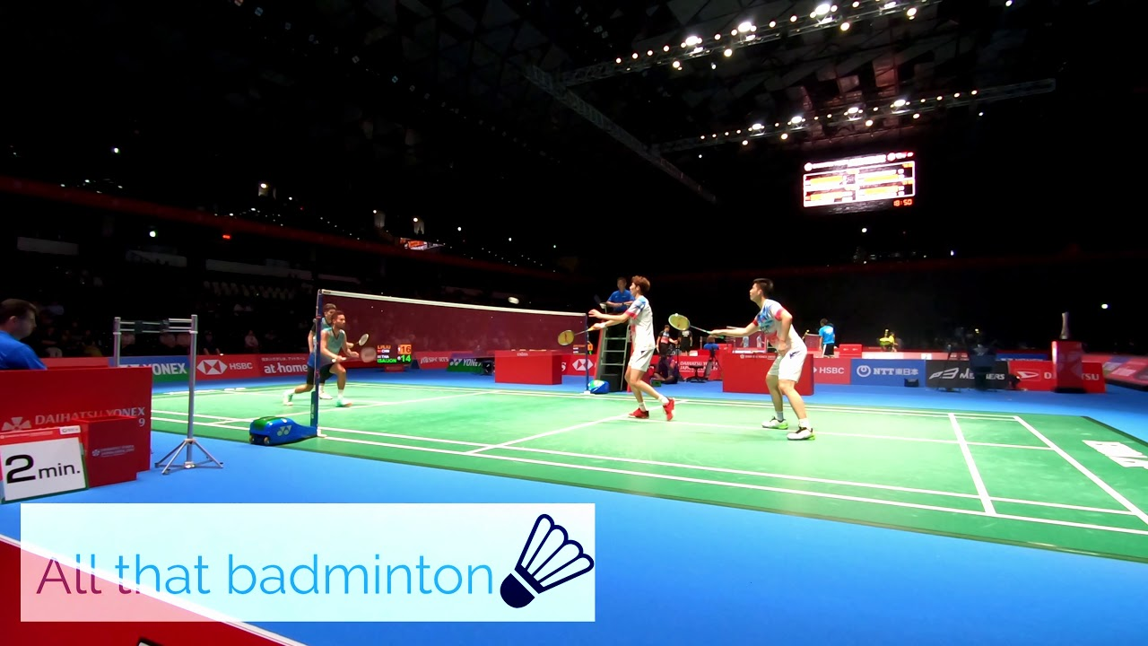 DYJ2019 MD  Li Jun Hui/Liu Yu Chen vs Bodin Isara/Maneepong Jongjit  Set2 Part2