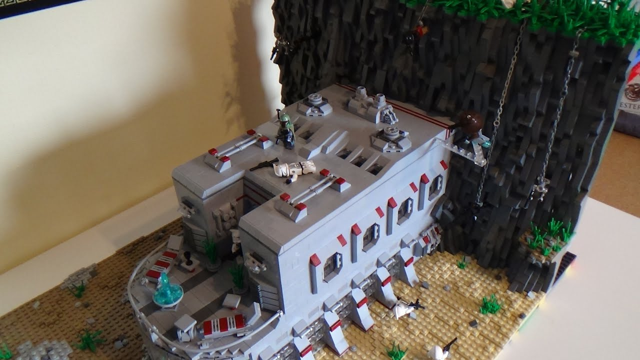 Lego Star Wars Clone BaseSenator Mansion On Naboo MOC