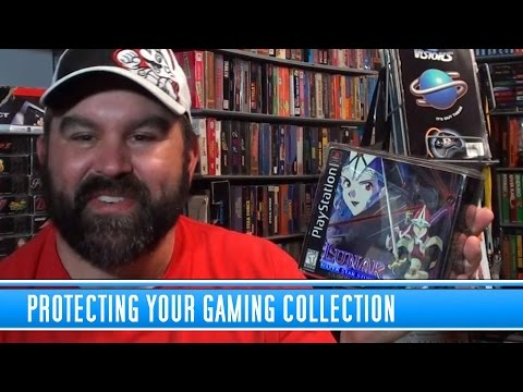 Protecting Your  Video Game Collection