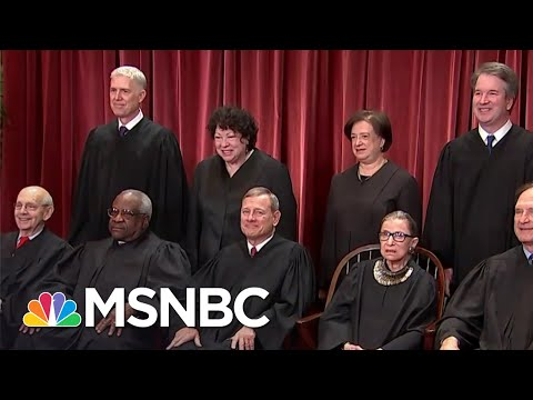 Supreme Court Cancels Oral Argument For Remainder Of Term | Stephanie Ruhle | MSNBC