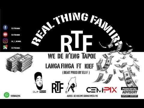LangaFinga Ft. Kiev - We De N' eng Tapoe  ( Prod. Eli F ) Realthing Famiri