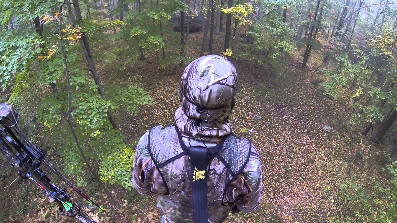 Trial Run In The Tree Stand With The Gopro Youtube