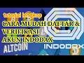 - CARA DAFTAR AKUN INDODAX DI ANDROID#indodax#caradaftarindodax#cryptocurency#dompetwalletindodax#
