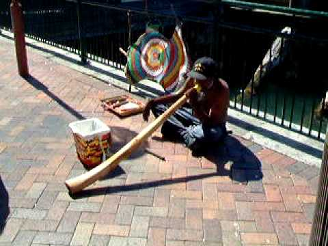 Amazing Digeridoo Player Australia