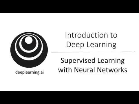 Supervised Learning with a Neural Network (C1W1L03)