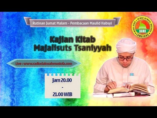 Kajian Kitab Majaalisuts Tsaniyyah 2020-03-20