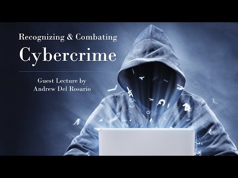 Recognizing And Combatting Cybercrime - October 26 2016