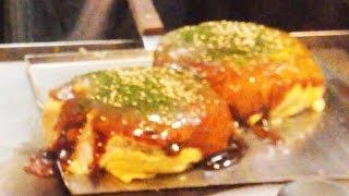 【ミシュラン掲載】広島風お好み焼きの作り方 レシピ焼き方 電光石火