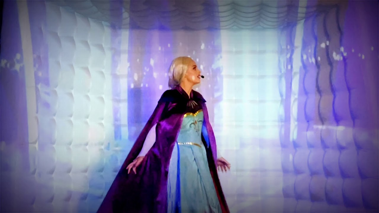 Let it Go Projection Show