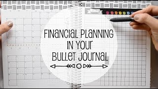 Financial Tracking In Your Bullet Journal | www.sunshinestickerco.com