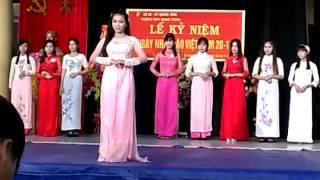 Nữ sinh thanh lịch (thpt Quang Trung)