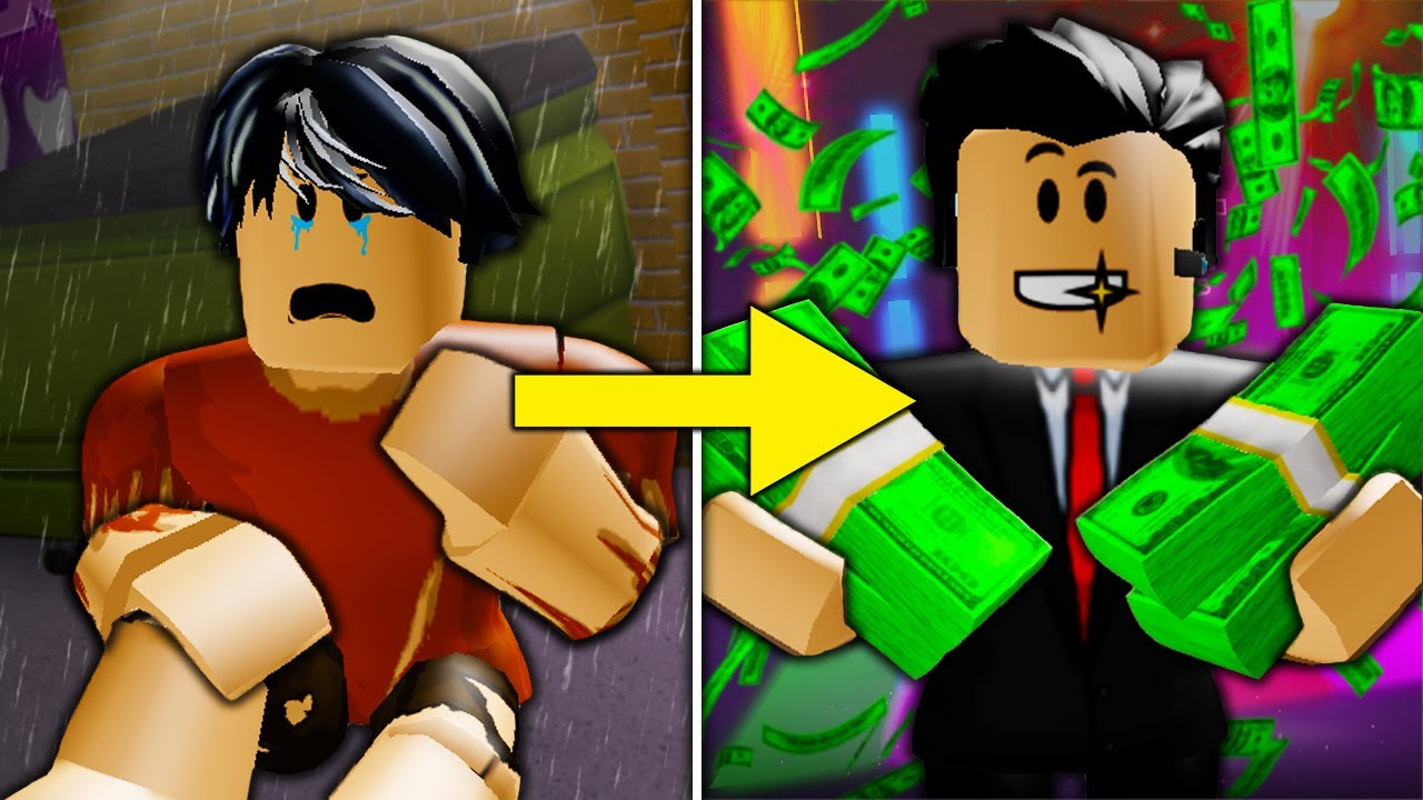Poor To Rich Roblox Movie Poor To Rich The End A Sad Roblox Bloxburg Movie Part 9 Youtube