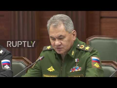 Russia: Shoigu thanks Serbian PM Vucic for 'political support' in Aleppo