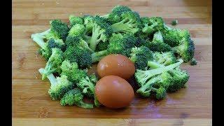 西兰花最好吃做法,加2个鸡蛋,我家一周吃6次,比吃肉还香!