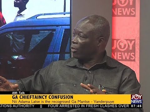 GA Chieftaincy Confusion - AM Talk on JoyNews (26-10-17)