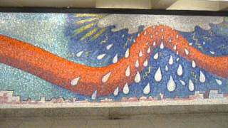 Elizabeth Murray Mural at Subway Station LIC NYC