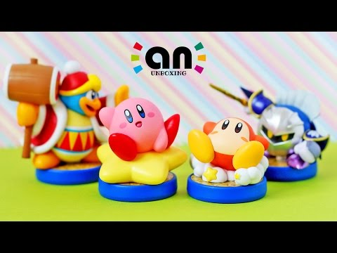 Kirby Series amiibo Unboxing | Nintendo Inquirer Unboxing (4K)