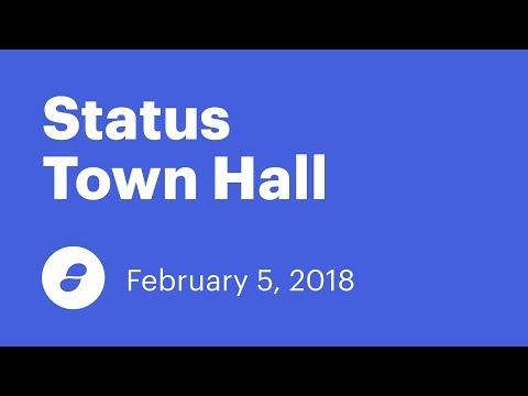 Status Town Hall - February 5, 2017