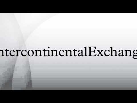 IntercontinentalExchange