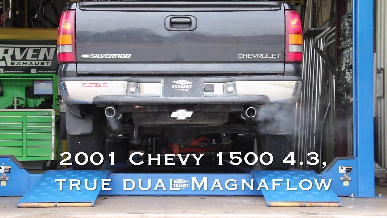 2001 chevy 1500 exhaust magnaflow true duals