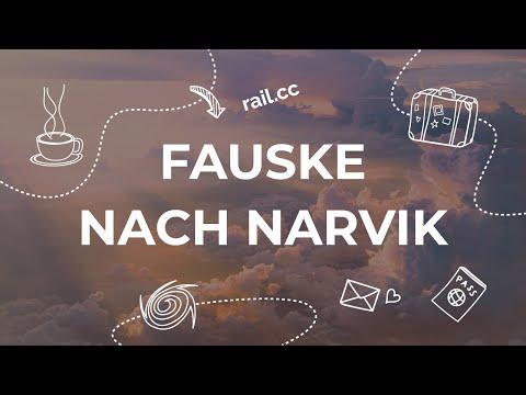 Von Bodø und Fauske nach Narvik mit dem Bus