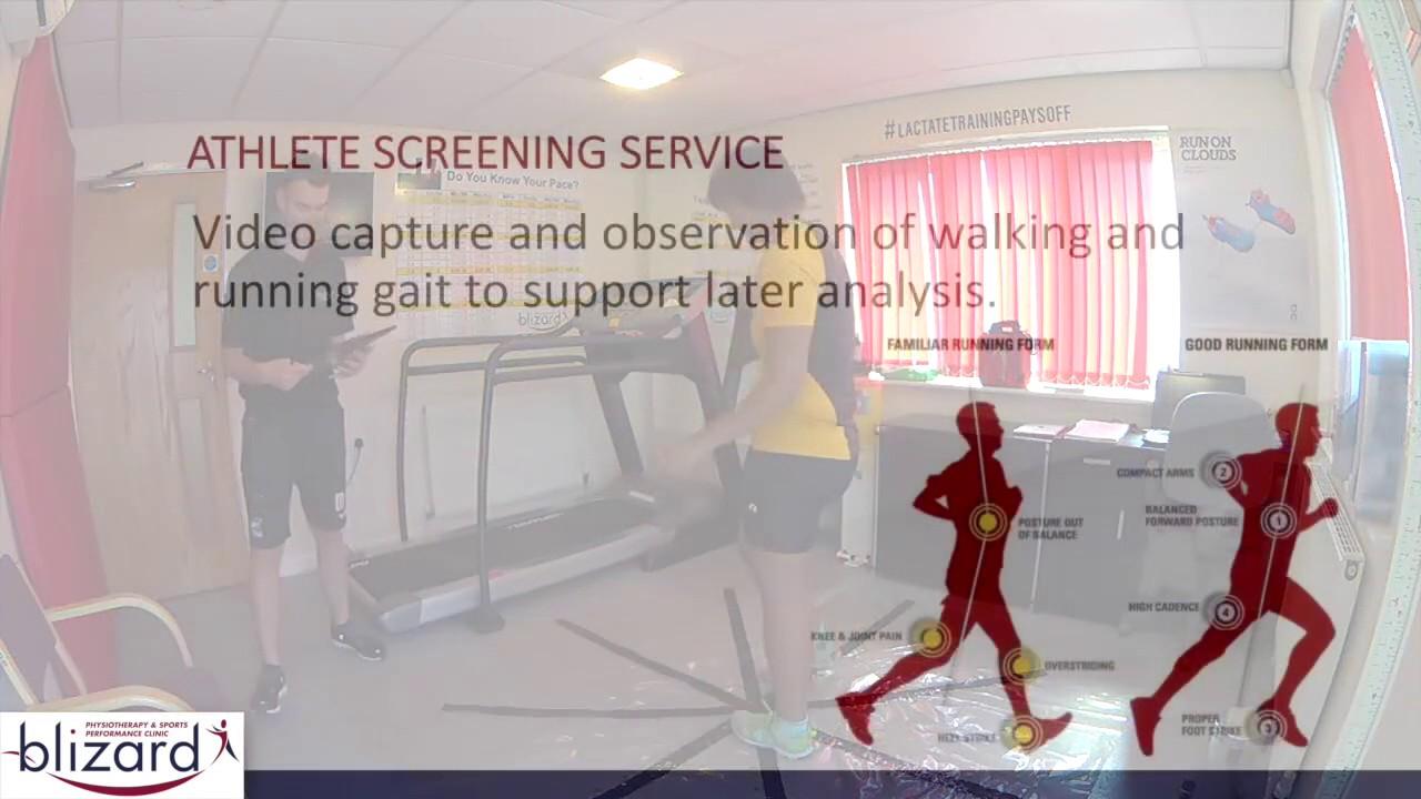 Biomechanical Screening Service - YouTube