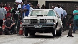 Part (1of3) Headhunters Dragway Grudge Racing, No Time (NT) 2016