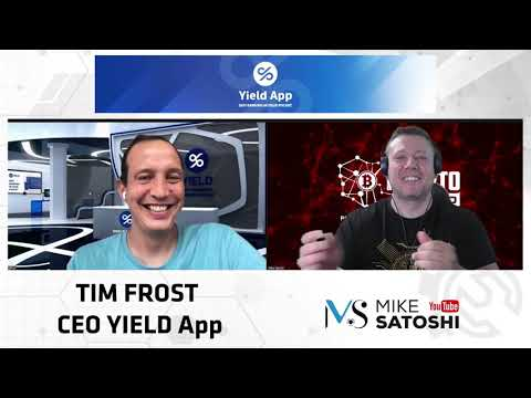 Let's Talk Crypto - Tim Frost, CEO Yield App