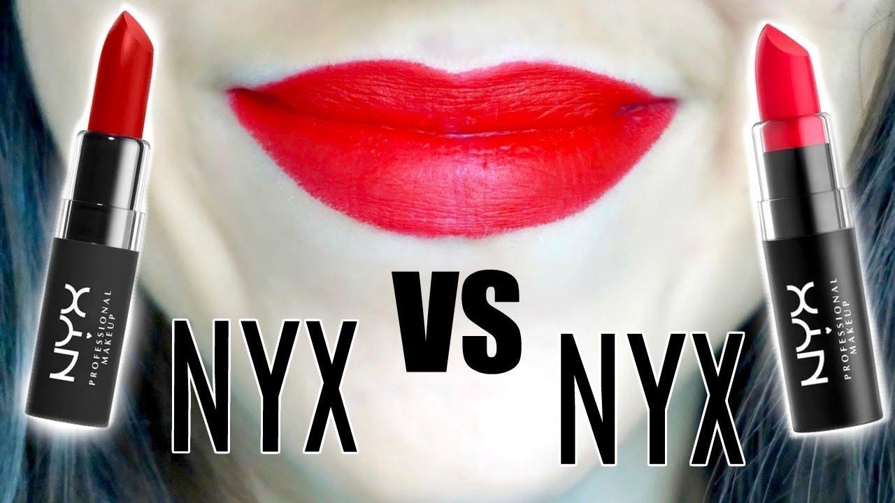 💄 El mejor Labial en barra : Matte Lipstick, Nyx Professional Makeup tono Alabama 👩🏻