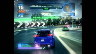 Blur - Gameplay ON GT220