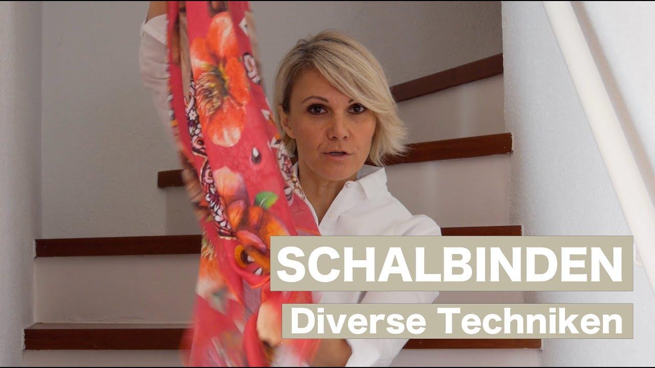 e3e74daa7f1c5e 5 Möglichkeiten Halstücher zu binden - Luisa Rossi - YouTube