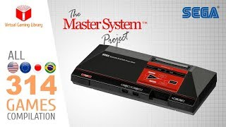 The Master System Project - All 314 SMS Games - Every Game (US/EU/JP/BR)