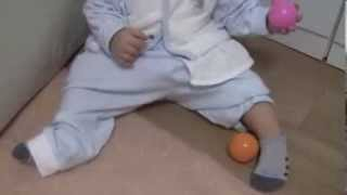 10か月前後の赤ちゃんとボール遊びをする方法 英語マニュアル&プログラ...