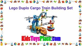 LEGO DUPLO Cargo Train Building Set 10875 Review & Best Price