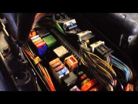 mercedes benz S320 w220 Как проверить питание на пневмокомпрессор