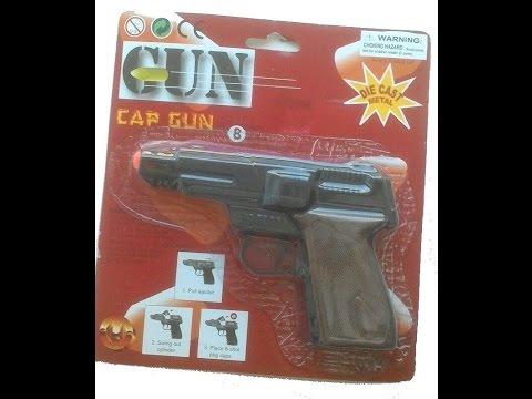 ШОК пистолет на пистонах! Обзор пугача. Детский пистолет!  Toy Guns. Gun on Pistone.