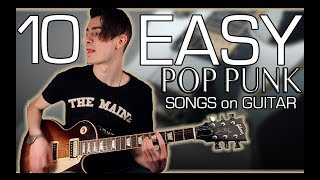 10 Easy Pop Punk Songs To Learn on Guitar w/ Tabs