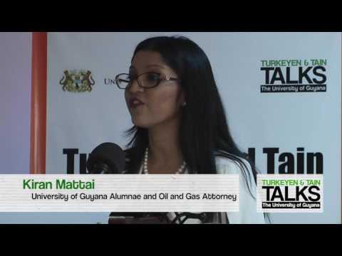 Turkeyen & Tain Talks 7: Guyana's Emerging Oil & Gas Economy | Kiran Matti pt.5