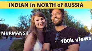 Punjabi met CRAZY Russians | Punjabi MC | Murmansk | Teriberka | Indian in Russia Travel Vlog 12