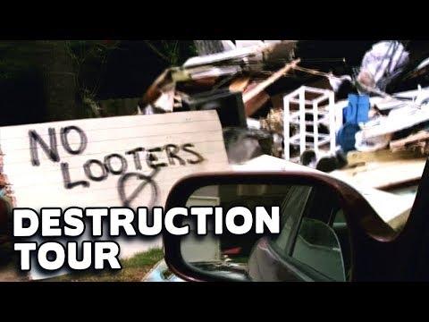 Hurricane Harvey Destruction & Damage TOUR 💥☔ @DCIGS
