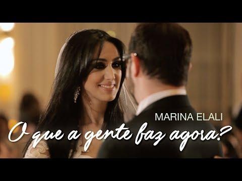Marina Elali - O Que a Gente Faz Agora (Lyric Video)