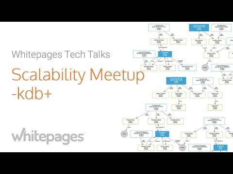Scalability Meetup @ Whitepages - kdb+