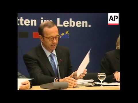 GERMANY: BERLIN: C-D-U ADMITS TO DUBIOUS PARTY FUNDING
